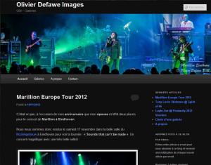 Site olivierdefawe.be